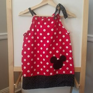 Other - HANDMADE Minnie Mouse smock dress